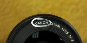 Lens Manufacturer name on lens