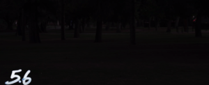 Shot in low light with 5.6 aperture lens- very dark