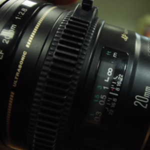 how to use focus ring on lens